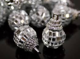 miniature retro disco ornaments ornaments