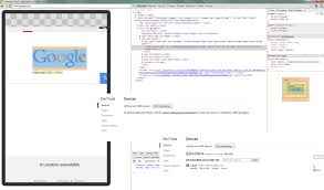 android chrome location debugging mobile web pages using chrome developer tools on