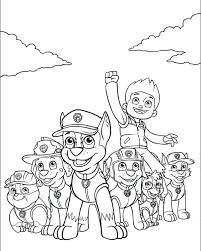 happy birthday paw patrol coloring page best of paw patrol coloring pages and top paw patrol coloring pages