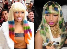 rainbow color hair ideas rainbow colored hair dye celebrities photos women hairstyles