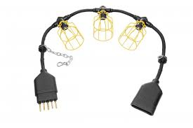 temporary string light cords connomac corp