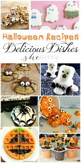 halloween cookbook delicious dishes party favorite halloween recipes shesaved