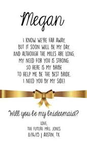 will you be my bridesmaid poem image result for of honor poem for this is