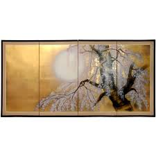 Large Oriental Wall Fans by Buy Asian And Japanese Art Online Chinese Paintings