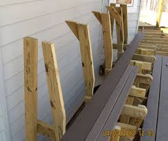 Deck Bench Bracket Project Deck