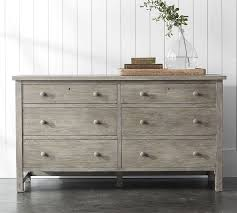 bedroom dressers white farmhouse extra wide dresser pottery barn