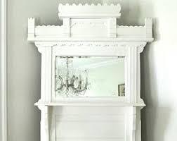 Shabby Chic Wall Shelves by Mirror Wall Shelf Etsy