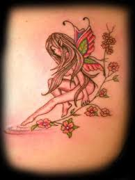 Fairy And Flower Tattoo Designs 130 Best Stunning Fairy Tattoos Selection Images On Pinterest