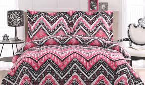 Black Floral Bedding Bedding Set Unbelievable Black White And Pink Twin Bedding