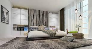 bedroom minimalist style bedroom nightstand wall decoration