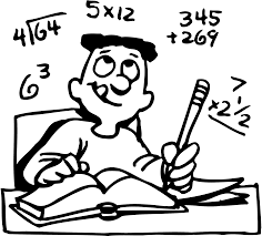 math clipart black and white for kids clipartxtras