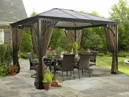 Menards Gazebos by Hardtop Gazebo For The Modern Outdoor U2014 All Home Ideas