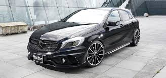 mercedes a class black wald mercedes a class revealed further in photos