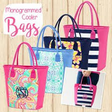 monogrammable items mudpie daytripper tote bag totebag monogram