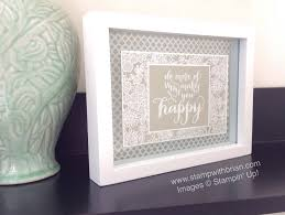 King Home Decor Frame It Creating Home Decor With Stampin U0027 Up Products U2013 Stamp