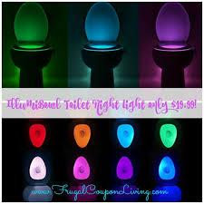 Motion Activated Night Light Illumibowl Toilet Night Light Only 19 99 Motion Activated