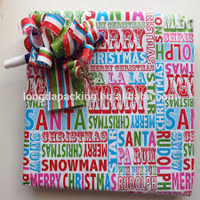 christmas wrapping paper sale hot sale printed christmas wrapping paper roll wrap gift wrap