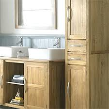 tall bathroom cabinets free standing mirrored white shaker style