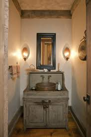 small rustic bathroom ideas including black marble sink table