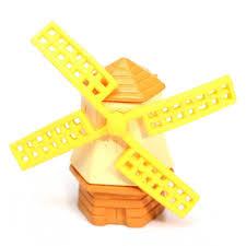 he527 miniature windmill garden ornament pot plant craft home