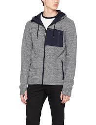 bench men u0027s bonded hoody jacket amazon co uk clothing