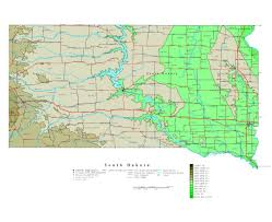 Road Map Of Southern Usa by Maps Of South Dakota State Collection Of Detailed Maps Of South