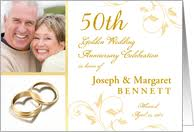 50th wedding anniversary greetings 50th anniversary invitations from greeting card universe