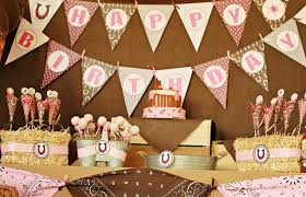 Cowboy Table Decorations Ideas Cowboy Cowgirl Birthday Party U2014 Criolla Brithday U0026 Wedding Pink