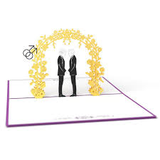 wedding 3d pop up cards lovepop
