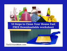 How To Clean A Cluttered House Fast 10 Steps To Clean Your House Fast The Stressed Mom