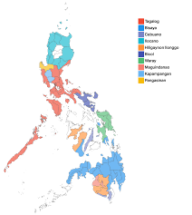 map in language the language landscape of the philippines in 4 maps