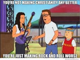 King Of The Hill Meme - hank hill on christian rock weknowmemes