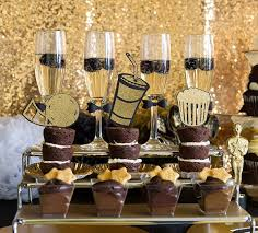 oscar party ideas lovely tuxedo black and gold oscar party