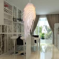 esszimmer h ngele moderne pendelleuchte romantische engel flügel pvc feder