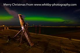 the northern lights tate hill pier whitby whitby photography