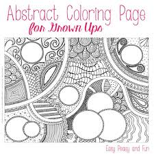 easy peasy coloring page free abstract coloring page for adults easy peasy and fun