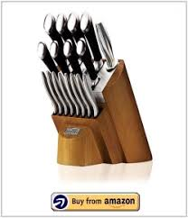 Kitchen Knives Set Reviews Chicago Cutlery Fusion 18 Knife Set Review With Block