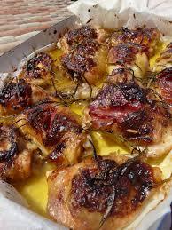 recette cuisine été on dine chez nanou un bon poulet coppa romarin ultra facile à faire