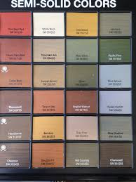 sherwin williams semi solid stains for deck u0026 fence paints