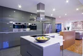 Modern Kitchen Cabinets Contemporary Kitchen Cabinets With Bright Lighting 9749