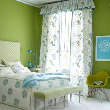 Green Bedroom Curtains 10 Lovely Floral Bedroom Curtain Ideas Rilane