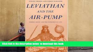 audiobook leviathan and the air pump hobbes boyle and the