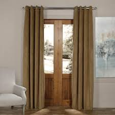 Eclipse Fresno Blackout Curtains by Tan Rod Pocket Curtains U0026 Drapes Window Treatments The
