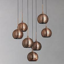 copper ceiling lights the just thing for your rooms warisan