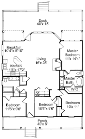 cottage floor plans cottage house plans plan small lodge with open floor western tiny