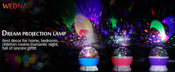 Bedroom Laser Lights Wedna Novelty 360 Rotating Galaxy Light Cosmos