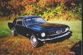 1964 Black Mustang 1964 1 2 Mustang Colors
