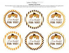 the larson lingo thankful for you free printable crafts