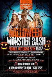 halloween monster bash u2013 la musica events