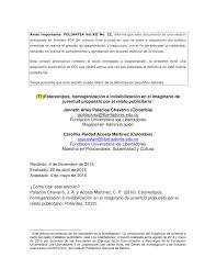 los 13 estereotipos comunes cuando se trata de armarios de segunda mano estereotipos homogenización e pdf available